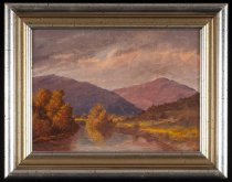 Image of Schroon River - Painting