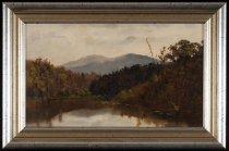 Image of Untitled: Possibly Schroon River - Painting