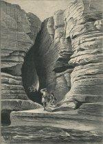 Image of Die Lederftrumpfhohle auf der Hudfoninfel bei Glens Falls - Print