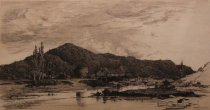 Image of Upper Hudson - Mill on the Schroon - Print