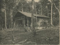 Image of Madam Gerster's Cottage, Bennett's Hotel, Raquette Lake, Adirondacks, N.Y. - Collotype