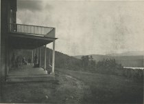 Image of Looking South from Merwin's Blue Mountain House, Adirondacks, N.Y. - Collotype