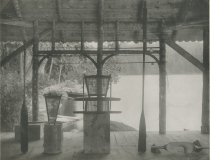 Image of Fixtures for an Adirondack Guide Boat, Forked Lake, Adirondacks, N.Y. - Collotype