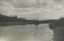Image of Marion River at the Half-way Trees, Adirondacks, N.Y. - Collotype