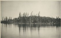 Image of Echo Camp, Long Point, From Big Island, Raquette Lake, Adirondacks, NY - Collotype