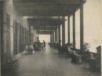 Image of Piazza, Prospect House, Blue Mountain Lake, Adirondacks, N.Y. - Collotype