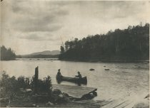 Image of Looking West from the Head of Long Carry, Forked Lake, Adirondacks, N.Y.