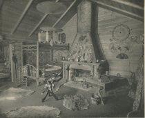 Image of Camp Cedars, Forked Lake, Adirondacks, N.Y. - Collotype