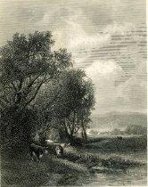Image of The Au-Sable At Keen Flats Adirondacs - Print