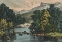 "Image of Racquet River. ""Adirondacks."" - Print"