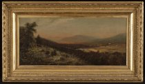 Image of Untitled: Keene Valley From Baxter Mountain - Painting