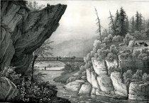 Image of Bridge On the Hudson River Near Luzerne - Print