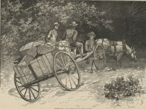 Image of Fahrt zum Lagerplätze in den Adirondacks - Print