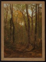 Image of Untitled: Woods Path - Painting
