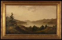 Image of View From the Ruins of Fort George, Lake George - Painting