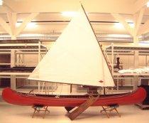 Image of Canoe, Sailing