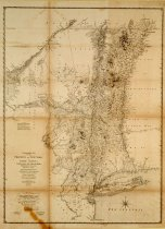 Image of A Chronolographical map of the province of New York ... - Claude J. Sauthier, comp.