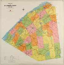 Image of Highway Map of St. Lawrence County -