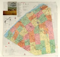 Image of 1976 highway map of St. Lawrence County -