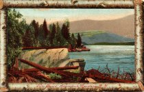 Image of Lake Placid, Adirondack Mountains, N.Y. - Postcard