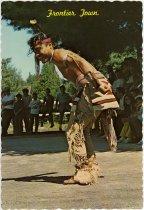 Image of Indian Dancer - Postcard