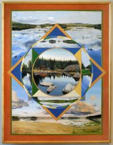 Image of Quebec Brook/Madawasca Pond Mandala - Painting