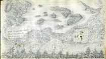 "Image of [View from the ""Eyrie"" Blue Mountain Looking Down to the West] - Drawing"