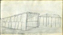 Image of [Sabattis Lodge, Osprey Island] - Drawing