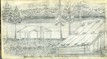 Image of [Sabattis Lodge] - Drawing