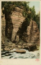 Image of Elephant's Head, Ausable Chasm, N.Y. - Postcard
