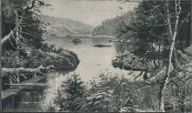 Image of Source of the Hudson, Reached Via the Adirondack - Print