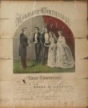 Image of Marriage Certificate - Print
