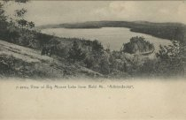 "Image of View of Big Moose Lake from Bald Mt, ""Adirondacks"". - Postcard"