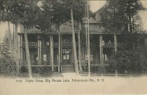 Image of Higby Camp, Big Moose Lake, Adirondack Mts, N.Y. - Postcard
