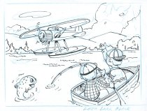Image of Hello Seaplane! - Drawing