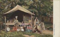 Image of Indian Basket Makers. - Postcard