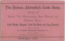 Image of The Famous Adirondack Guide Boats, Models of Beauty, Fine Workmanship, Good Material and Moderate Prices : Light Weigh, Buoyant, Good Sea Boats and Easy Running - Grant, H. Dwight