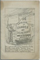 Image of 1881 Catalogue of Canoes and Sailing Boats / W. P. Stevens, Rahway, N.J. - W. P. Stephens (Firm)