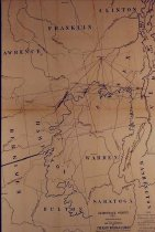 Image of (Adirondack Survey) sketch showing primary triangulation .... - Colvin, Verplanck