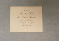 Image of Announcement, Wedding
