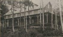 Image of Under the Hemlocks, Hotel. Raquette Lake, Adirondacks, N.Y.