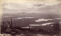 Image of 72.  View from St. Regis Mountain., - Print, Albumen