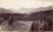 Image of [20]. Keene Valley, South from Brook Knoll Lodge. - Print, albumen