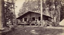 Image of 753. Camp Pine Knot, Raquette Lake. - Print, Real Photo Postcard