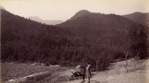 Image of 56. Lower Au Sable Lake, West from Outlet. - Print, Albumen