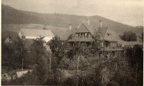 Image of 33. House at North Creek, [Line] of Adirondack Railway, Adirondacks, N.Y. - Print, Albumen