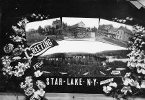 Image of GREETING FROM STAR LAKE N.Y. - Print, contact