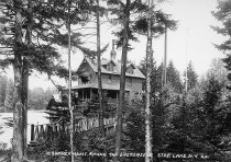 Image of A SUMMER HOME AMONG THE EVERGREENS. STAR LAKE, N.Y. 26. - Print, contact