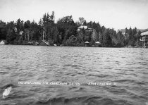 Image of THE HIGHLANDS AND SHORE NEAR S.L. INN. STAR LAKE, N.Y. 31. - Print, contact