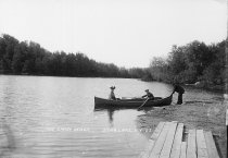 Image of THE SANDY BEACH, STAR LAKE, N.Y. 27. - Print, contact